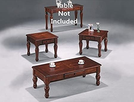 Brand New 3-pk Wooden Coffee Table and End Tables Cocktail set Espresso Finish