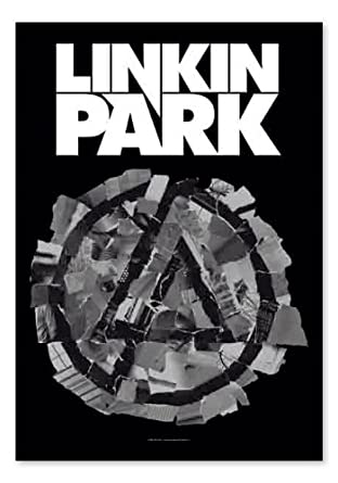 Linkin Park Flagge Pieced Together - Posterflagge - Textilflagge