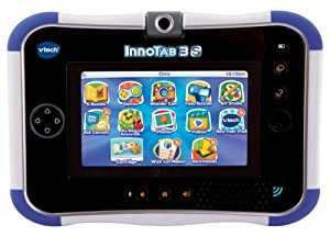 VTech InnoTab 3S with Rechargeable Battery Pack (Blue)