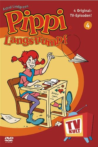 Lindgren-Edition: Pippi Langstrumpf, Teil 4 (Zeichentrick)