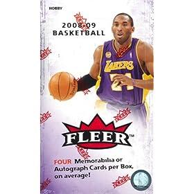 2008/09 Fleer Basketball HOBBY Box - 16p15c