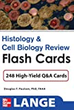 img - for Histology and Cell Biology Review Flash Cards (LANGE FlashCards) book / textbook / text book