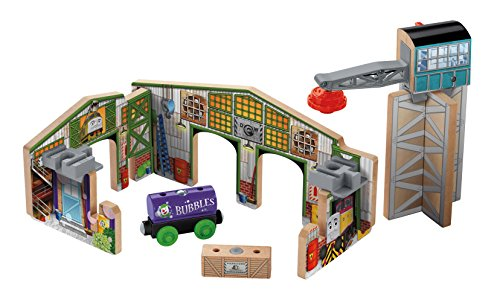 Fisher-Price Thomas & Friends Wooden Railway Creative Junction Slot & Build
