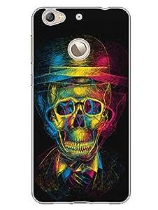 Drunken Skull - Enjoy The Moment - Designer Printed Hard Back Shell Case Cover for LetV 1S Superior Matte Finish LetV 1S Cover Case