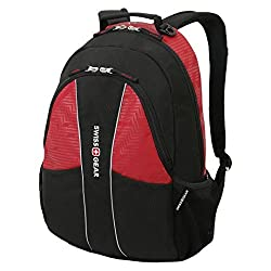 Swiss Gear Computer Backpack, Black/Red