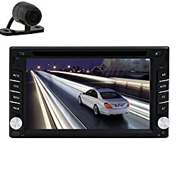 See New Car DVD Player with Reversing Camera Double Din 6.2 Inch Car PC Dual-Core HD Digital Touch Screen Bluetooth In Dash Headunit Details