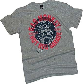 Amazon com monkey business gas monkey garage fast n loud t shirt clothing