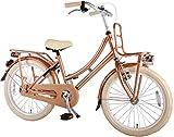 Lolz Fahrrad, Hohe Qualität, für Mädchen 20 Zoll / 50,8cm Mädchen-Fahrrad USA-Retro-Stil–Metallic-Goldfarben