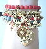 CAT HAMMILL (キャットハミル)   限定! heart bracelet set レッドもかわいい^o^// ブレスレット 改改☆