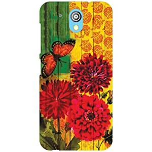 HTC Desire 526G Plus Back Cover - (Printland)