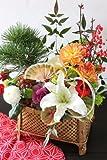 正月 新春アレンジメント 【迎春】 【正月飾り】 【お年賀】 【お歳暮】 12月26日以降でご希望の日にちをお知らせください