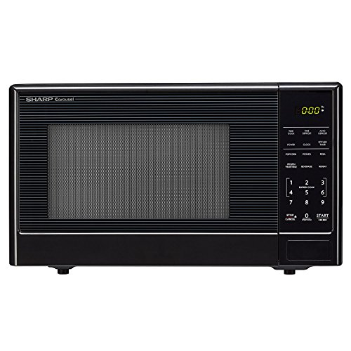 Sharp Compact 1.1 cu.ft. Stainless-Steel Countertop Microwave Oven (Small Footprint Microwave Oven compare prices)
