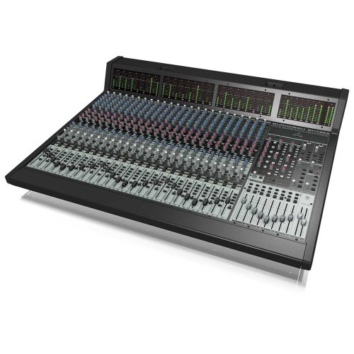 Behringer Eurodesk Sx4882 Ultra-Low Noise Design 48/24-Input 8-Bus In-Line Mixer With Xenyx Mic Preamplifiers, British Eqs And Integrated Meterbridge