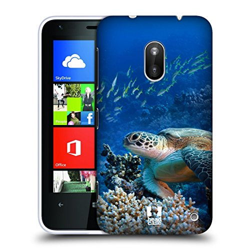 Head Case Designs Sea Turtle Sitting On Coral Reef Wildlife Protective Snap-on Hard Back Case Cover for Nokia Lumia 620