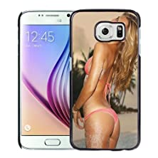 buy New Personalized Custom Designed For Samsung Galaxy S6 Phone Case For Bar Refaeli Pink Bikini Phone Case Cover