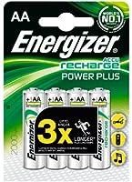 Energizer - Pile Rechargeable Power Plus 4 HR6 2000 mAh