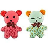 Cloth Teddy Bear Set Of 2