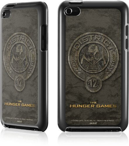 Skinit The Hunger Games -District 12 Stone Logo for LeNu Case for Apple iPod Touch (4th Gen)