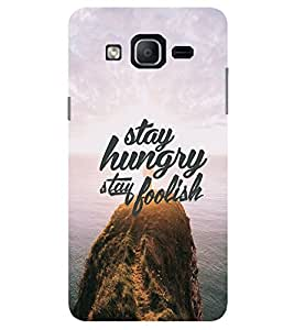Evaluze life quote Printed Back Cover for SAMSUNG GALAXY ON7 2015