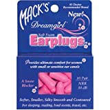 Mack's Dreamgirl Soft Foam Earplugs 10 pr