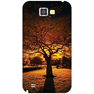 Samsung Galaxy Note 2 N7100 Back Cover - Calm Designer Cases