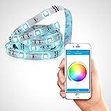 Satechi IQ LED帯状ライト iOS iPhone iPad アプリ操作 マルチカラーRGB LEDネオン アクセント照明
