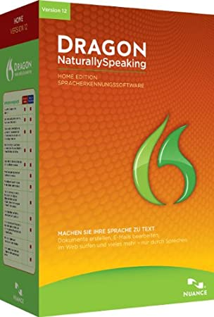 Dragon NaturallySpeaking Home 12.0