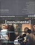 echange, troc Collectif - Monumental 2008 - Semestriel 2