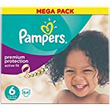 Pampers Mega Box Active Fit Nappies - Pack of 64