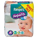 Pampers Windeln Active Fit Gr.4+ Maxi...