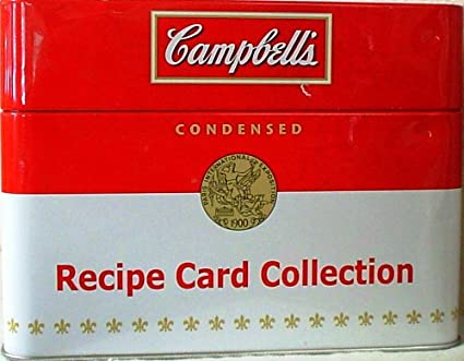 Recipe Card Collection Campbell's Soup Recipe Card