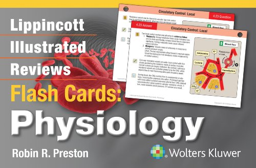 Lippincott Illustrated Reviews Flash Cards: Physiology (Lippincott Illustrated Reviews Series)