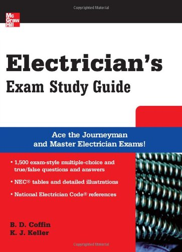 Electrician's Exam Study Guide (McGraw-Hill's Electrician's Exam Study Guide) - McGraw-Hill Professional - MG-0071489304 - ISBN: 0071489304 - ISBN-13: 9780071489300