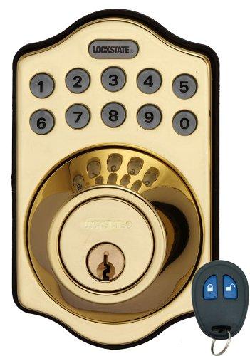 LockState LS-DB500R-PB Electronic Deadbolt