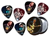 Neil Young (WK) 6 X Live Performance Guitar Picks in Tin