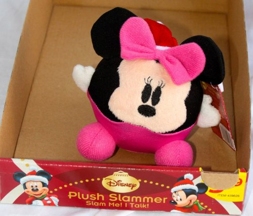 DISNEY CHRISTMAS MINNIE MOUSE PLUSH TALKING/SINGING SLAMMER