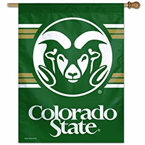 Buy NCAA Colorado State Rams 27-by-37 inch Vertical Flag by WinCraft
