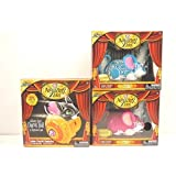 The Amazing Zhus Interactive Toy Circus Ball And Magician Card With (2) Stunt Pets,Dynamo And Piccadilly.