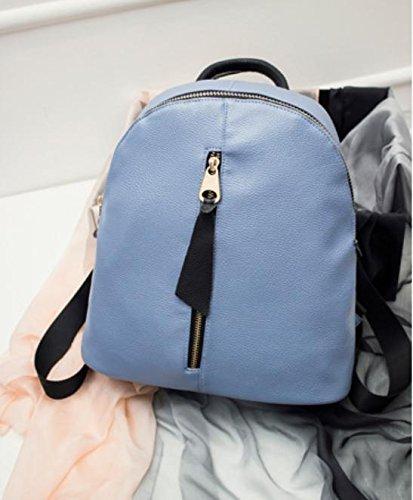 GQ-WOMEN BAG 2016 nuovo zaino in pelle borsetta moda borsa a tracolla donna coreana mucca cuoio Borsa versatile multiuso , 3