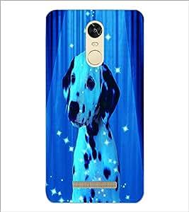 PrintDhaba Spot Dog D-3893 Back Case Cover for XIAOMI REDMI NOTE 3 (Multi-Coloured)