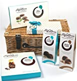 Lily O'Briens Luxury Chocolate Turquoise Gift Set Hamper with 5 Chocolate items