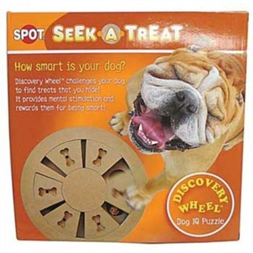 Ethical 5785 Seek-A-Treat Discovery Wheel Dispensing Puzzle