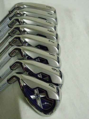 Callaway X-18 Irons Iron Set 3-PW Graph Reg LEFT NEW