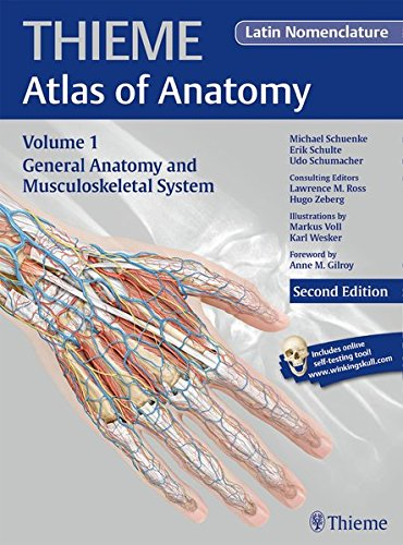 General Anatomy and Musculoskeletal System (Latin Nomenclature Edition) (Thieme Atlas of Anatomy)