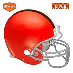Fathead Cleveland Browns Helmet Wall Decal by Fathead