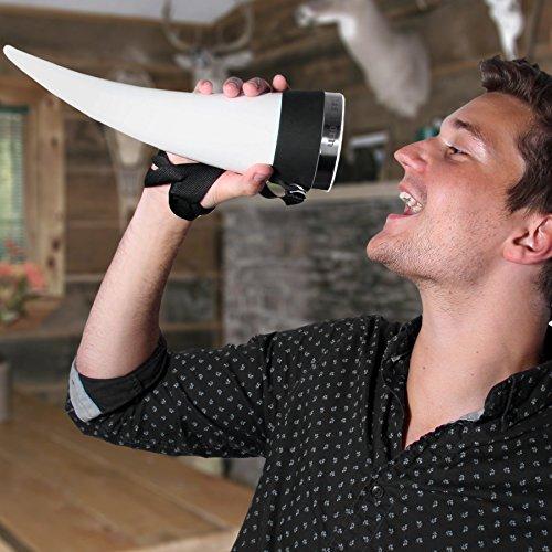 Thumbs Up DASHORN Das Horn Bicchiere da Birra a Forma di Corno Vichingo