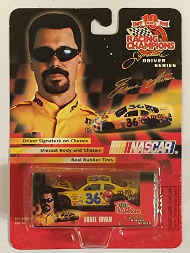 1999 Racing Champions - NASCAR - Ernie Irvan - Signature Driver Series - M&Ms #36 Official Car Replica (1:64 Scale) - 1