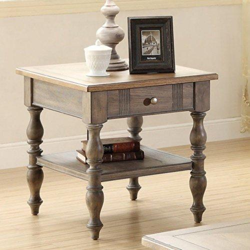 Ash Bedside Table 2146 front