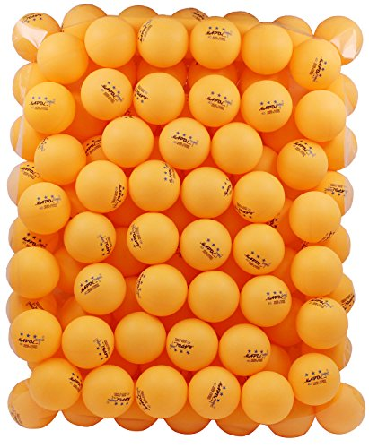 MAPOL 100 Orange 3-star 40mm Table Tennis Balls Advanced Training Ping Pong Ball (100 Beer Pong Balls compare prices)