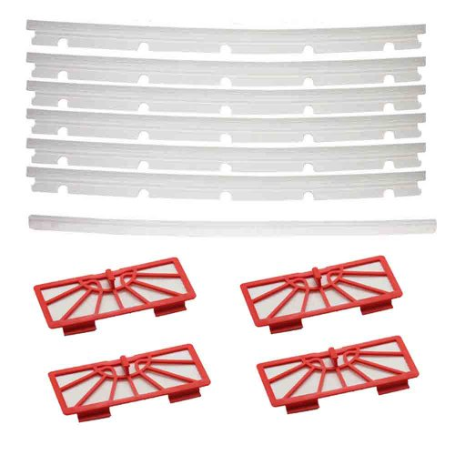 Cimc Llc 4 Hepa Filters + 6 Blades And 1 Squeegee Replacement For Neato Xv-11 Xv-12 Xv-14 front-571540